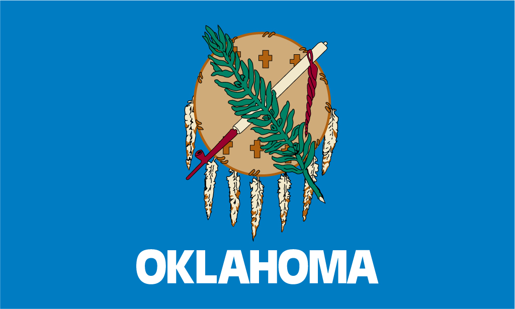 Oklahoma USA Flag Pictures