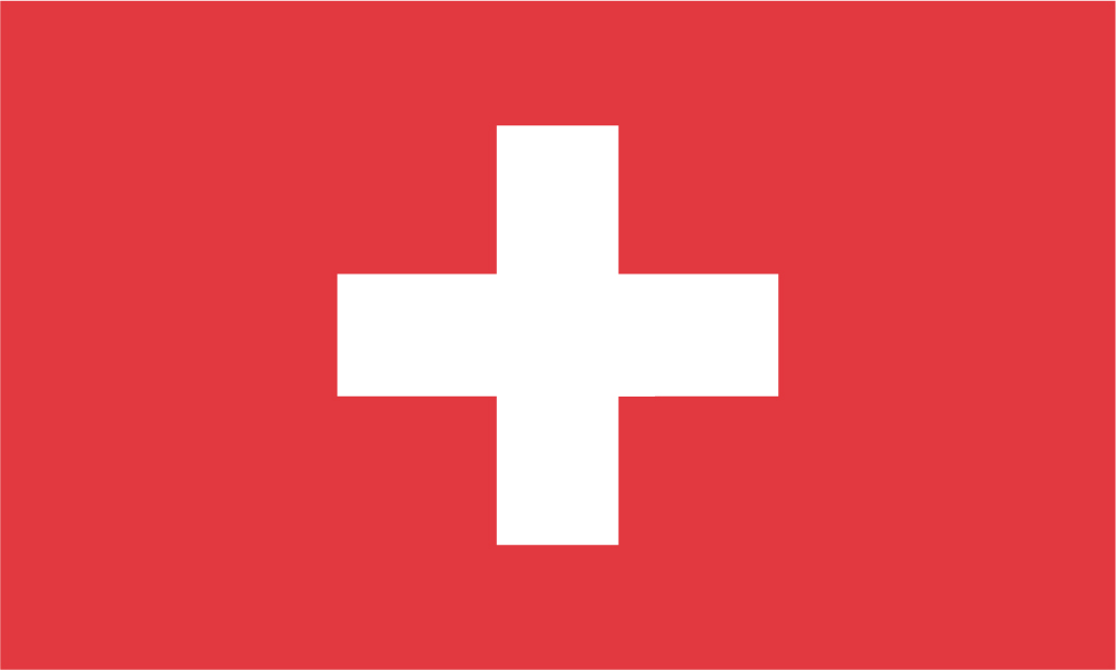 National Flag. Switzerland
